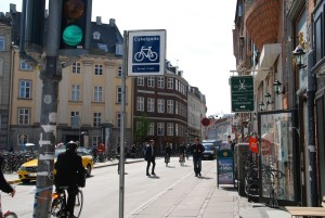 Copenhague. (Source : Cycling Embassy of Denmark) Isabelle et le vélo